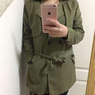 🚚 風衣式外套 🧥 長袖外套 長版罩衫