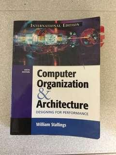 🚚 Computer Organisation & Architecture by William Stallings