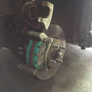Project U Front Brake Pad Toyota Vios, Yaris 1.5