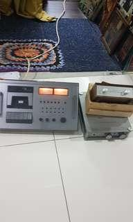Vintage  Nakamichi Tape 600 and Others.