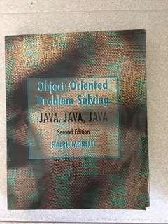 Java Object Oriented Problem Solving