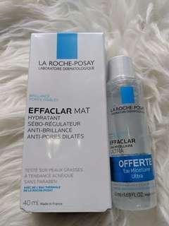 La Roche Posay Effaclar Mat Moisturiser (Get Free Micellar Water)