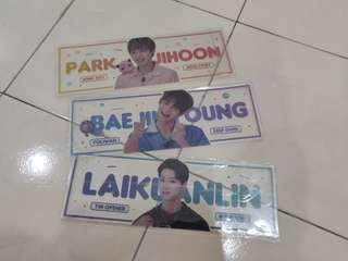 Wannaone transparent slogan