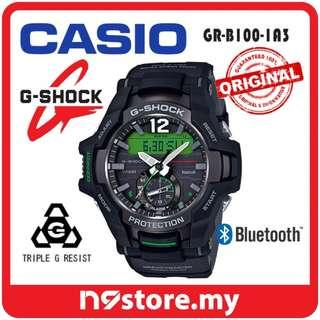 CASIO G-SHOCK GRAVITYMASTER GR-B100-1A3 PHONE FINDER BLUETOOTH SMART WATCH