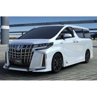 TRD Bodykit for Toyota Alphard