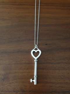 Tiffany Key Heart Pendant Necklace