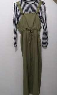 Overall & Top Stripe