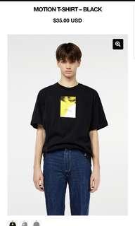 Privé alliance baekhyun motion t shirt size s mens