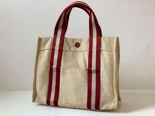 Authentic Bally Canvas Tote Bag