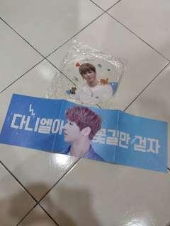Wanna one kang daniel slogan set