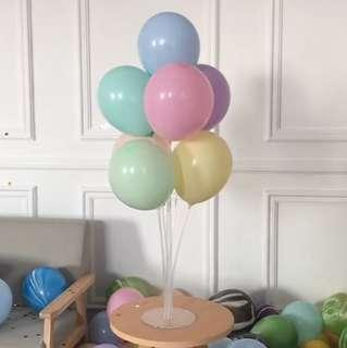 馬卡龍色乳膠氣球 macaron latex balloons