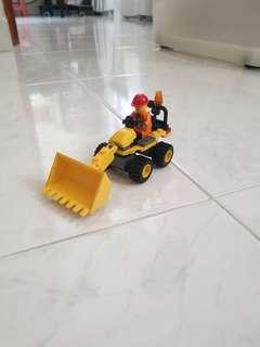 🚚 Lego Mini Digger 7246