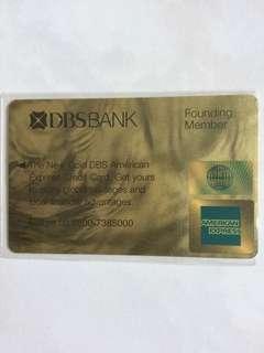 DBSBANK Phonecard