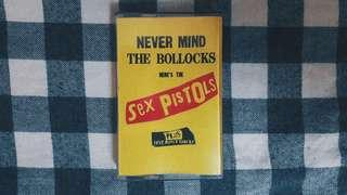 Sex Pistols - Never Mind The Bollocks Cassette Tapes