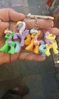 Little pony keychain