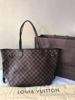 Lv Mm neverfull damier guaranteed authentic