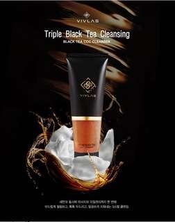 包郵Vivlas 紅茶CCC三步曲洗面奶 Black Tea Cleanser Sample