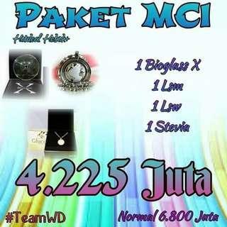 Mci paket ( 1 bioglass X + 1 LSM + 1 LSW + 1 G.STEVIA )