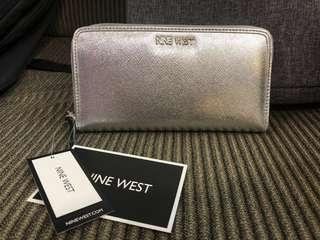 Nine West Silver Wallet