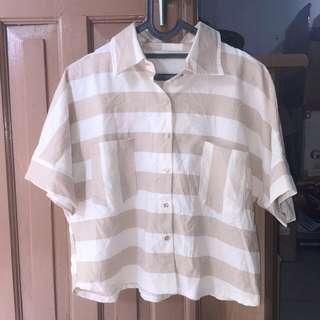Basic stripe shirt