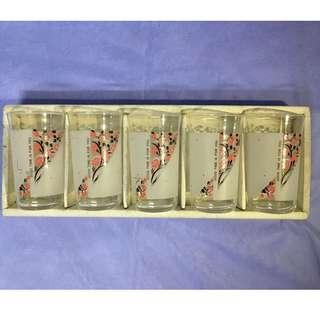 Japanese 5 pcs Cup Set