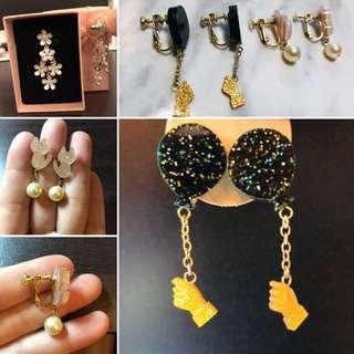 🚚 夾式耳環 針式耳環❣️
