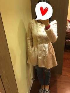 小公主風厚版腰身洋裝外套💕全新