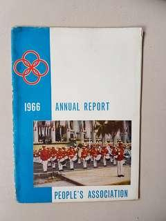1966 annual report People's Association