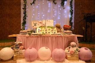 First Month Dessert Table