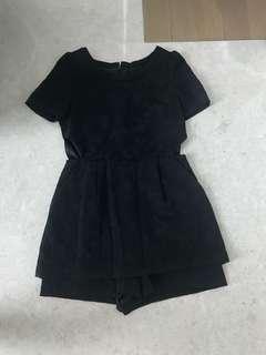 Black sexy Revealing jumpsuit