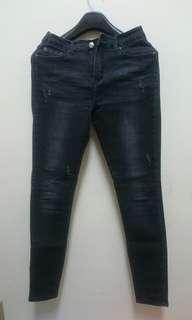 韓版窄管褲