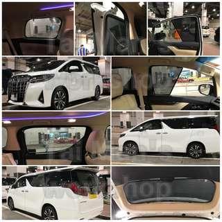 豐田新舊 Alphard Vellfire 10 20 30 全車磁石濾光窗網
