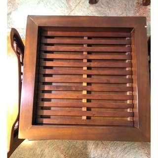Solid wood Tray(Tea & coffee)