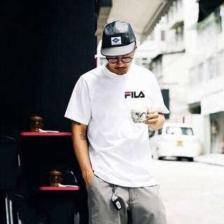 Fila Shirt (Black/White)