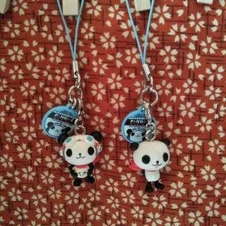 日本Panda-Z 熊貓鐵金剛造型吊飾
