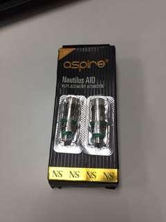 2x Aspire Nautilus AIO OCC 1.8 NicoSalt