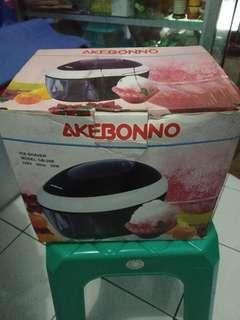AKEBONO ICE SHAVER ( alat es serut)