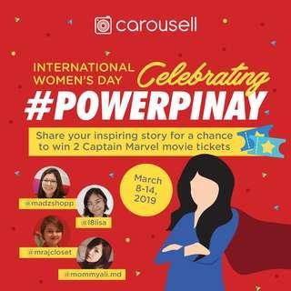 CLOSED -- GIVEAWAY 🌟 Celebrating #PowerPinay!