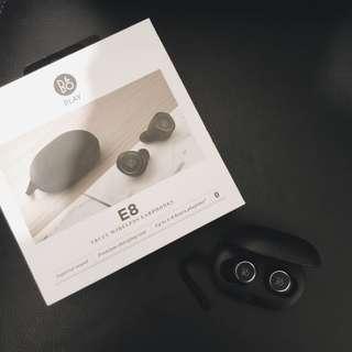 B&O E8 Wireless earphones