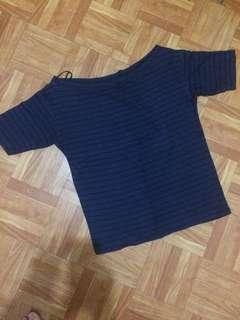 Uniqlo boat neck top