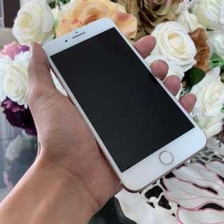 IPHONE 7plus rosegold (FULL SET)