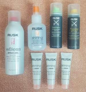 Rusk Hair Products