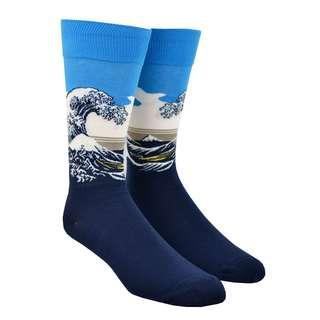 The Great Wave Japan - Adult Socks
