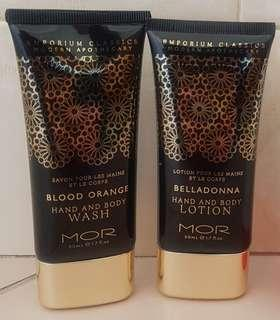 MOR Hand and Body Products
