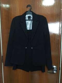 Iora Branded Slimfit Blazer and Skirt set