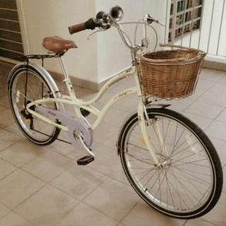 Bicycle basikal vintage Raleigh Shimano