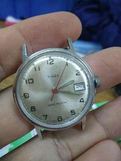 Vintage Timex Gent Watch manual wind