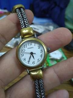 Vintage Fossil lady watch