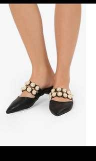 Mel and molly embellished pointed flats