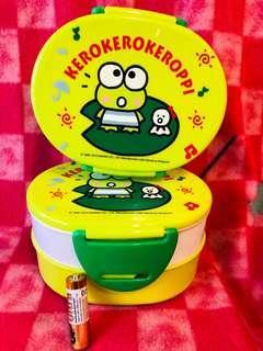 Keroppi 食物盒兩個